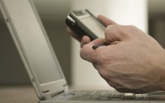 Cloud computing enables professionals to use mobile technology and social media.