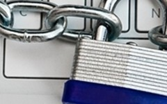 Data encryption offers greater security for laptops and other mobile devices.